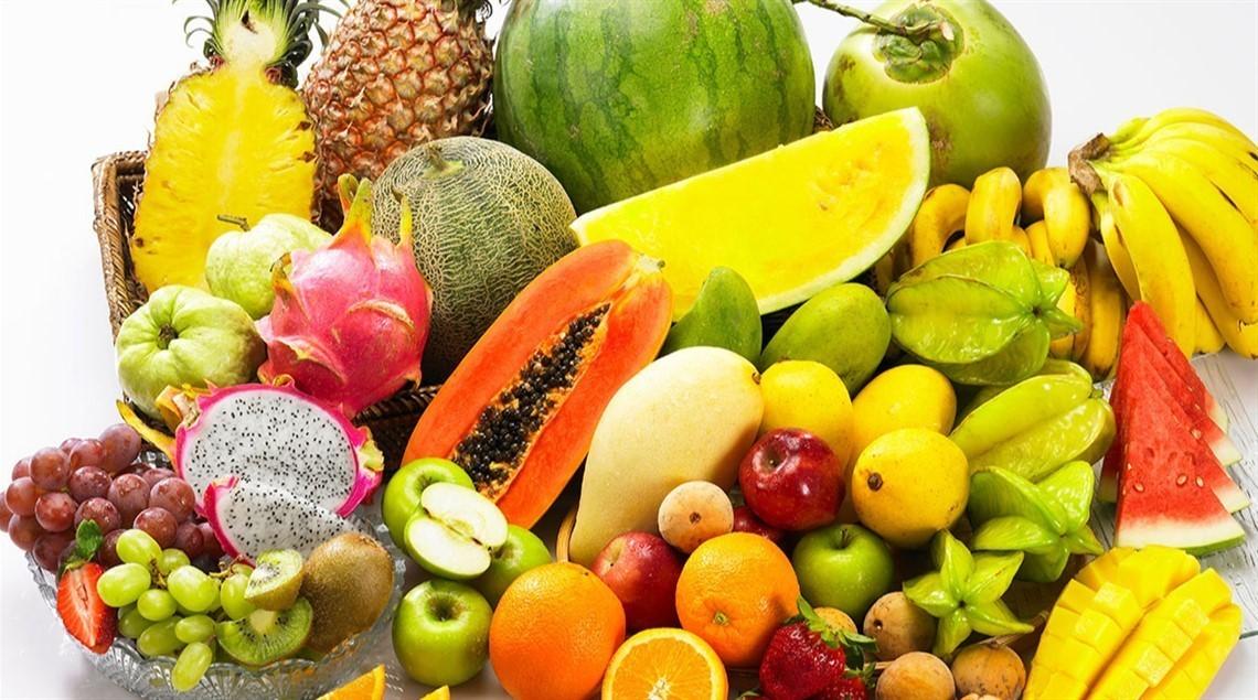 جدول رجيم الفواكه